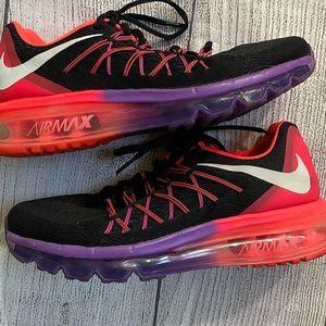 Women's Nike Air Max Shoes Black Punch Grape US 8